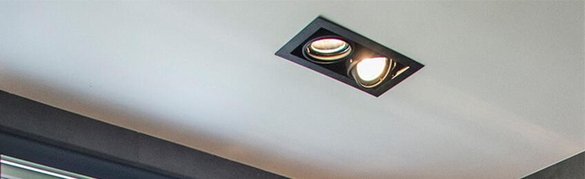 LED infällda spotlights