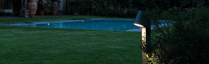 Golvlampa utomhus