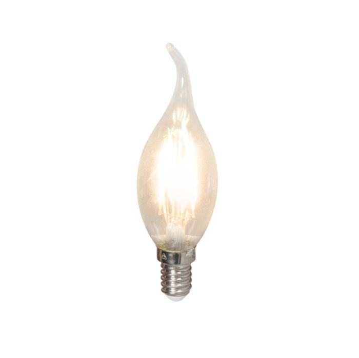 Kronljuslampa-E14-LED-3.5-Watt-350-Lumen-Varmvitt-Dimbar