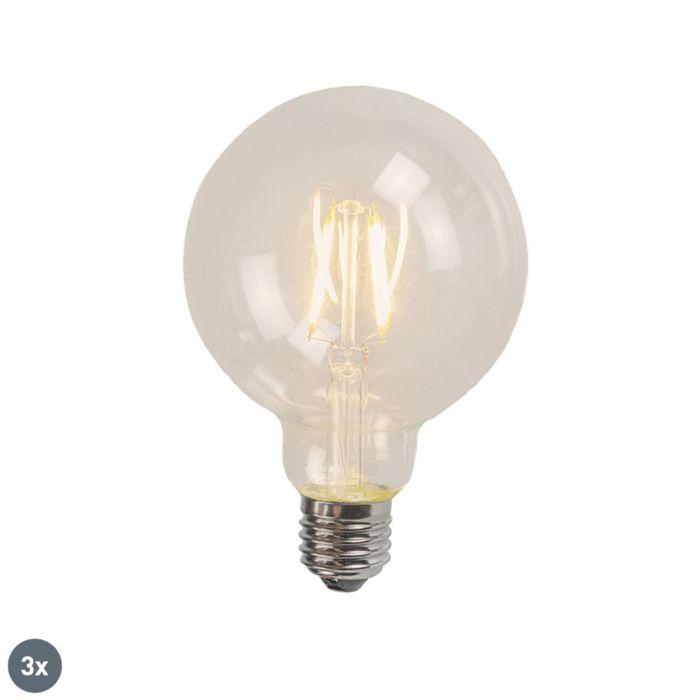 Uppsättning-av-3-E27-LED-Glühlampe-4W-470-Lumen-2700K