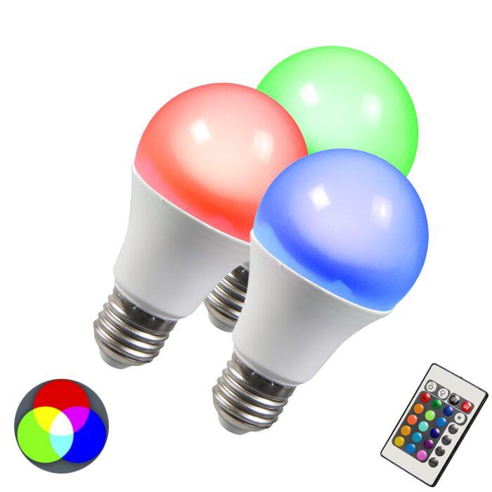 E27-LED-3-Watt-180-Lumen-RGB-(valbart)-Dimbar