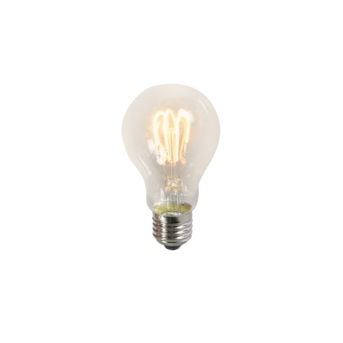 Twisted-glödlampa-LED-lampa-A60-3W-2200K-klar