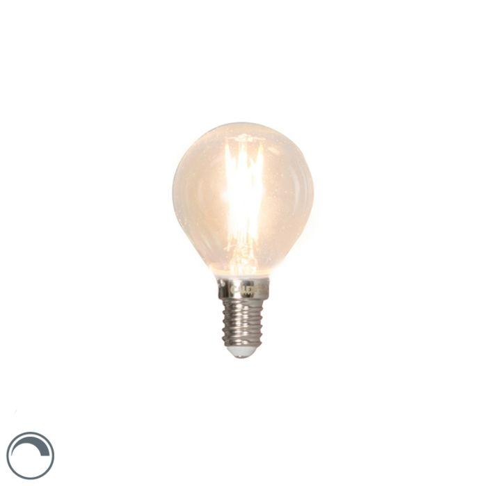 E14-dimbar-LED-glödlampa-3W-350lm-2700K
