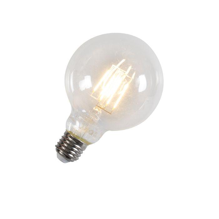 Klot-95-mm-E27-LED-6-Watt-600-Lumen-Varmvitt