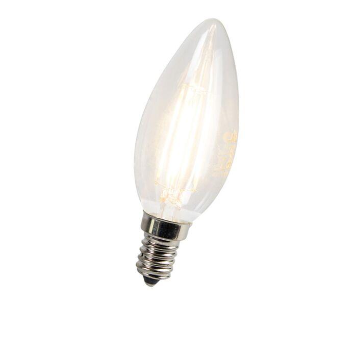 Kronljuslampa-E14-LED-3-Watt-300-Lumen-Varmvitt