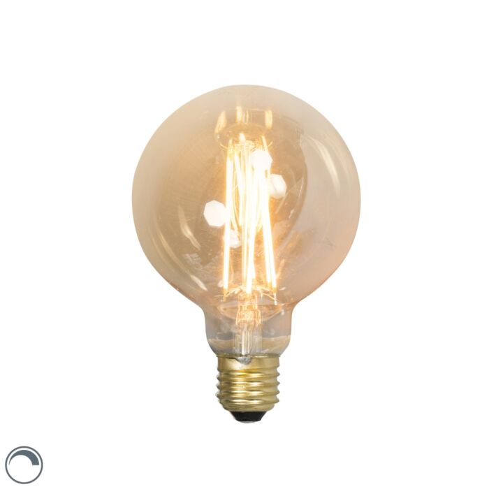 LED-lång-glödlampa-lampa-E27-240V-4W-320lm-dimbar
