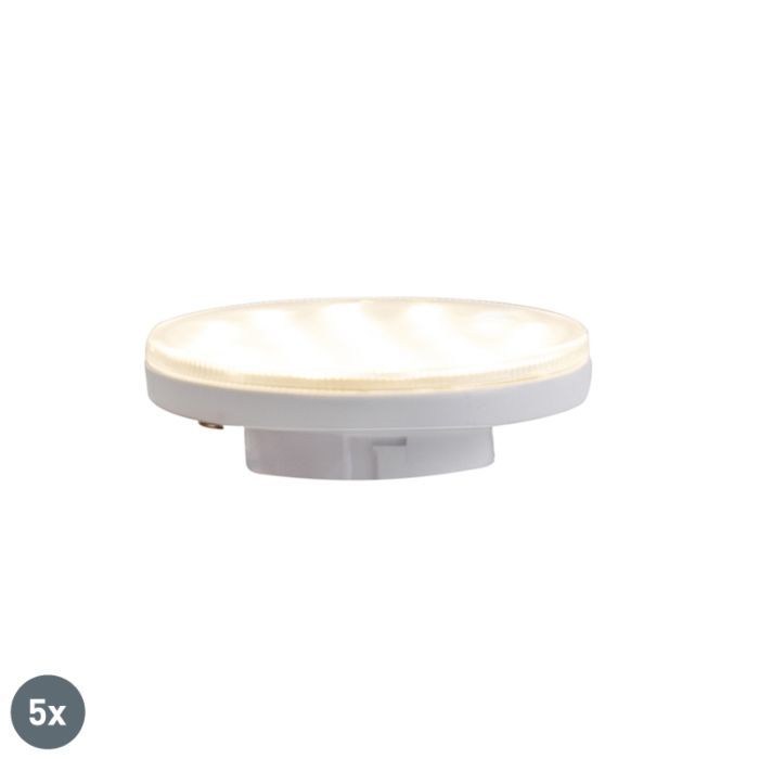Set-med-5-GX53-3-stegs-dimbar-LED-lampor-3W-350-lm-3000K