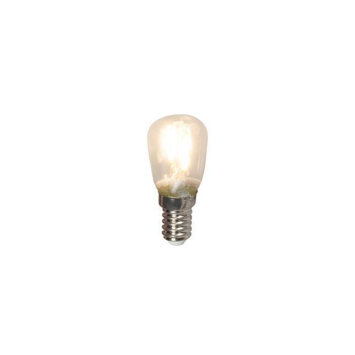 E14 LED glödlampa växellampa T26 1W 100lm 2700 K | Lamporochljus