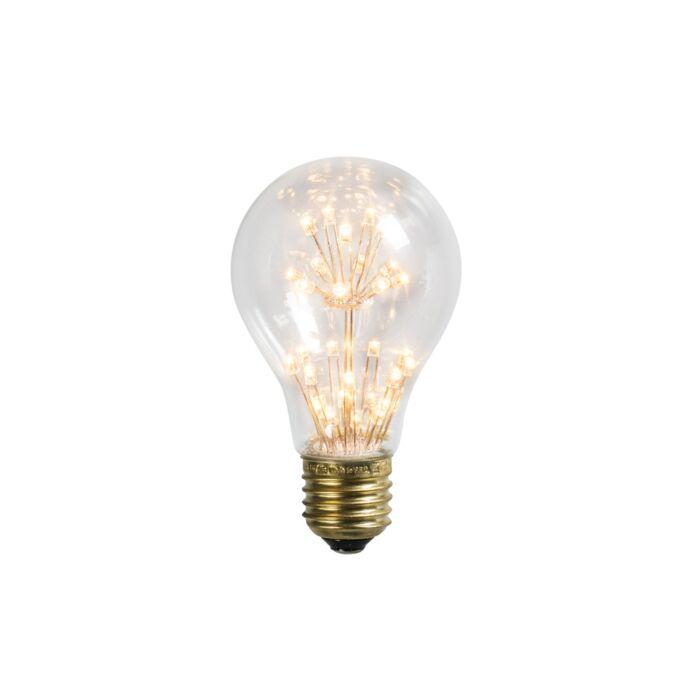 E27 LED glödlampa A60 1.4W 136LM 2100 K   Lamporochljus