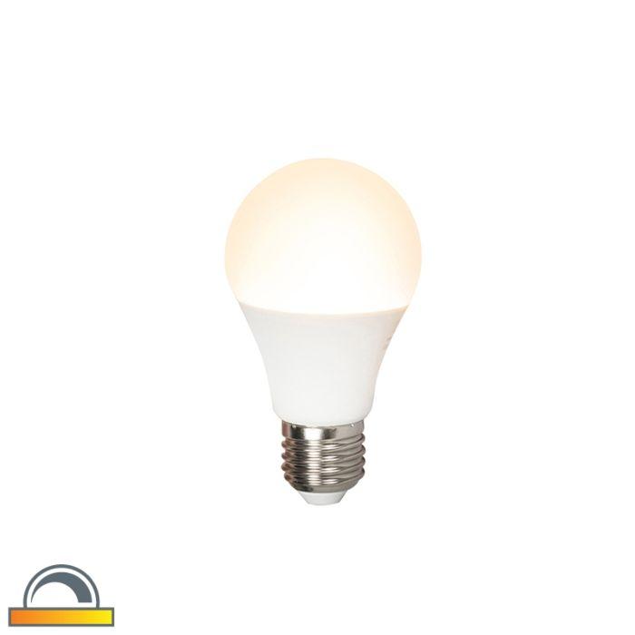 E27-dimbar-LED-lampa-A60-7W-510lm-2000K---2700K