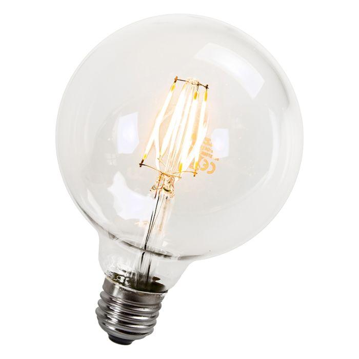 Klot-95-mm-E27-LED-4-Watt-470-Lumen-Varmvitt