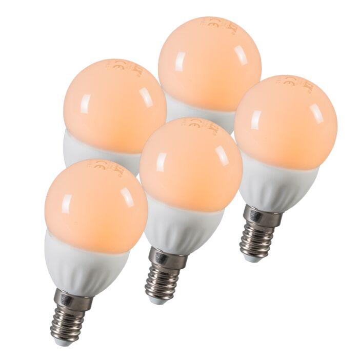 Klotlampa-E14-3-Watt-250-Lumen-Varmvitt