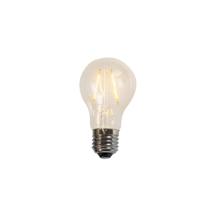 LED-lampa-för-glödtråd-A60-2W-2200K-klar