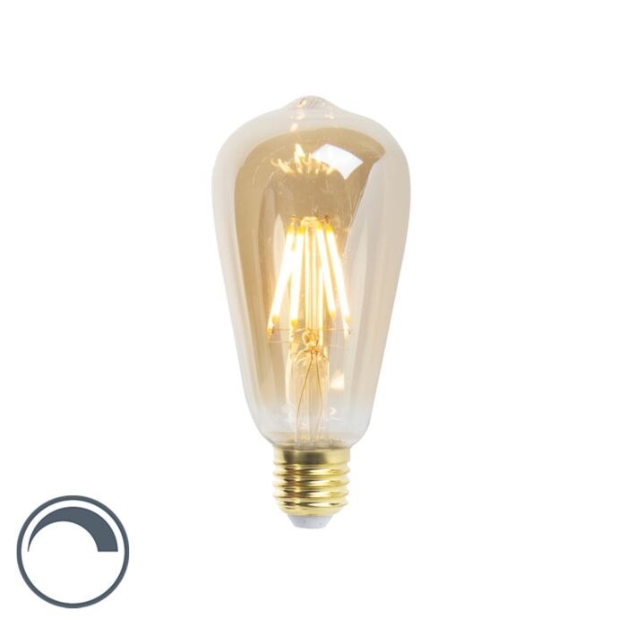 E27-dimbar-LED-glödlampa-ST64-5W-360-lumen-2200K