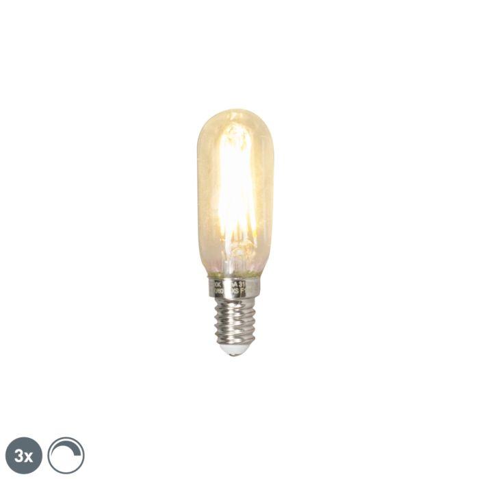 Uppsättning-av-3-E14-dimbar-LED-T25L-glödlampor-3W-310-lumen-2700K