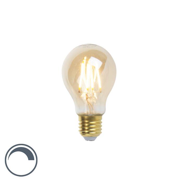 LED-Goldline-glödlampa-E27-5W-360lm-A60-dimbar