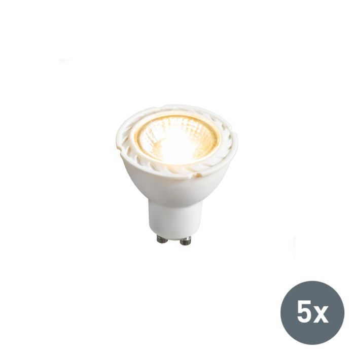 GU10-LED-7-Watt-550-Lumen-Varmvitt-Dimbar