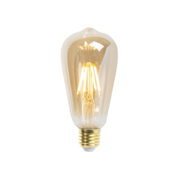 Uppsättning-av-3-E27-dimbara-LED-glödlampor-ST64-360-lumen-2200K