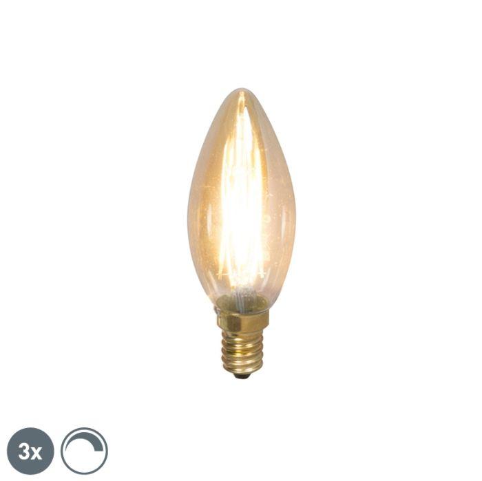 Uppsättning-av-3-E14-dimbara-LED-glödlampor-200lm-2100-K