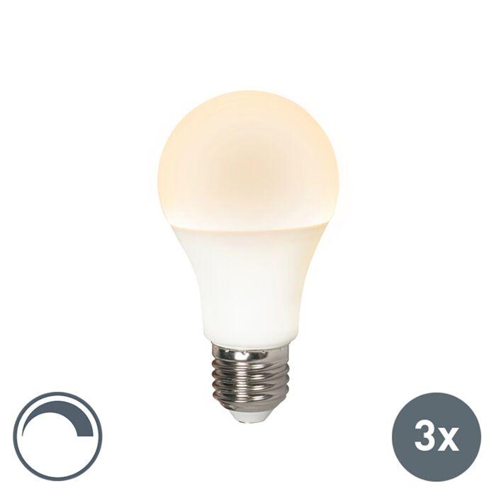 E27-LED-10-Watt-810-Lumen-Varmvitt-Dimbar