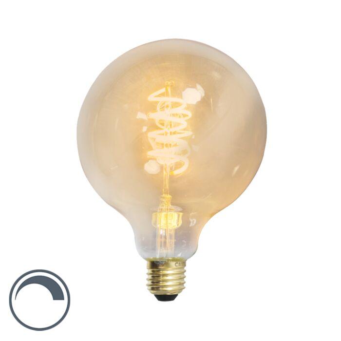 LED-vridna-glödlampor-jordklot-E27-240V-4W-200lm-dimbar