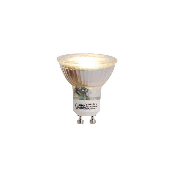 GU10-LED-lampa-3W-230-lm-2700K