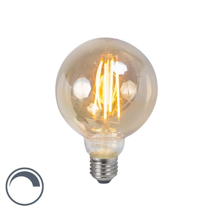 LED-glödlampa-E27-5W-2200K-G95-rök-dimbar