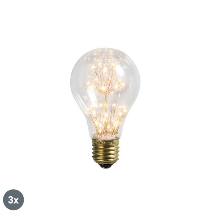 Uppsättning-av-3-LED-lampor-E27-1.4W-/-136LM