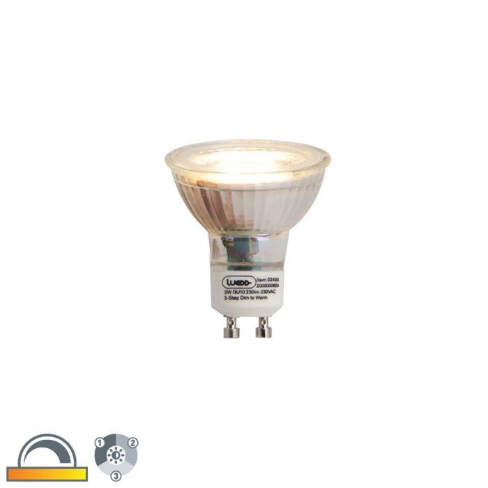 GU10-3-stegs-dimbar-i-Kelvin-LED-lampa-3W
