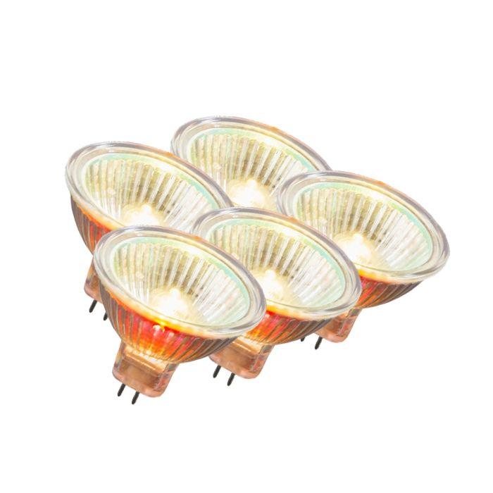 GU5.3-Halogen-10-Watt-55-Lumen-Varmvitt-Dimbar