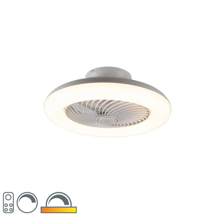 Design-takfläkt-vit-inkl-LED-dimbar---Clima