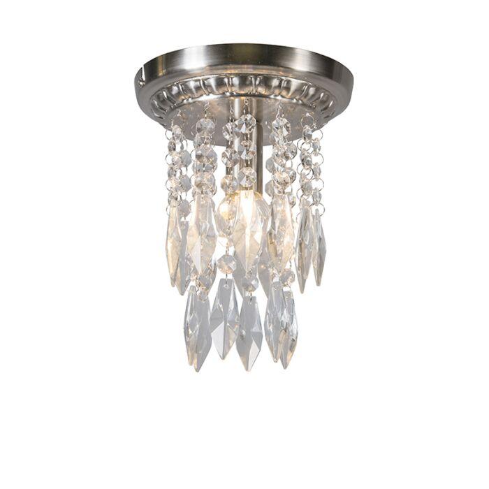 Plafond-'Jelly-18'-Klassisk-stål/glas---Passande-för-LED-/-Inomhus