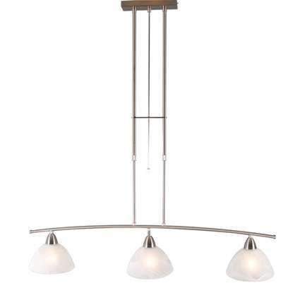 Taklampa-till-matsal-'Firenze-3'-Klassisk-stål---Passande-för-LED-/-Inomhus