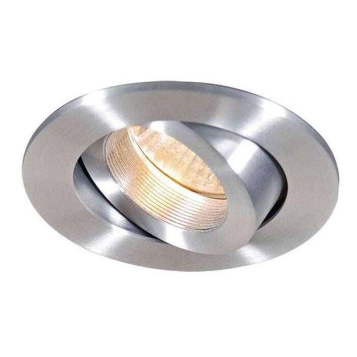 Spotlight/downlight-'Quale-R'-Design-aluminium---Passande-för-LED-/-Inomhus