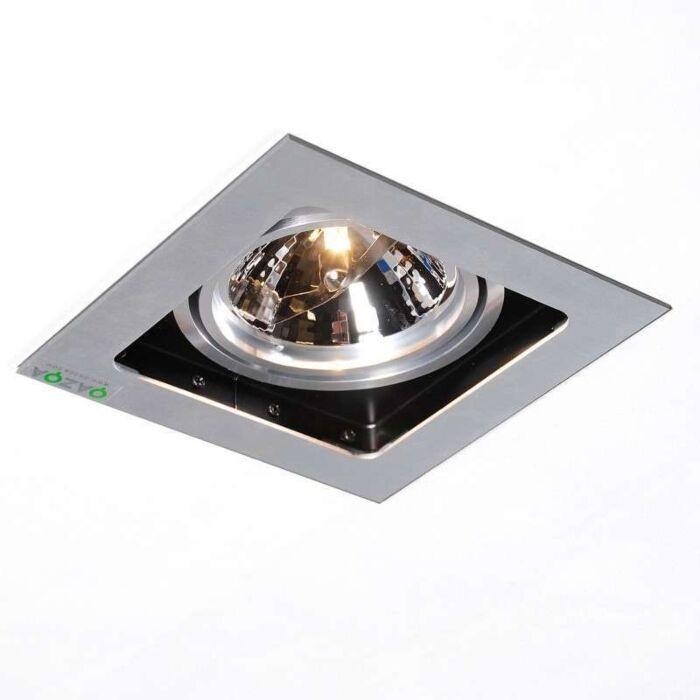 Spotlight/downlight-'Qure-1'-Design-aluminium---Passande-för-LED-/-Inomhus