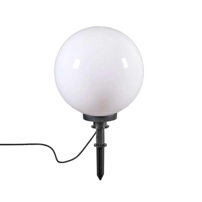 Modern-utomhuslampa-med-jordstift-50-cm-IP44---Glödlampa