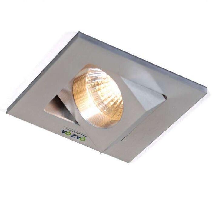 Spotlight/downlight-'Quale-Q'-Design-aluminium---Passande-för-LED-/-Inomhus