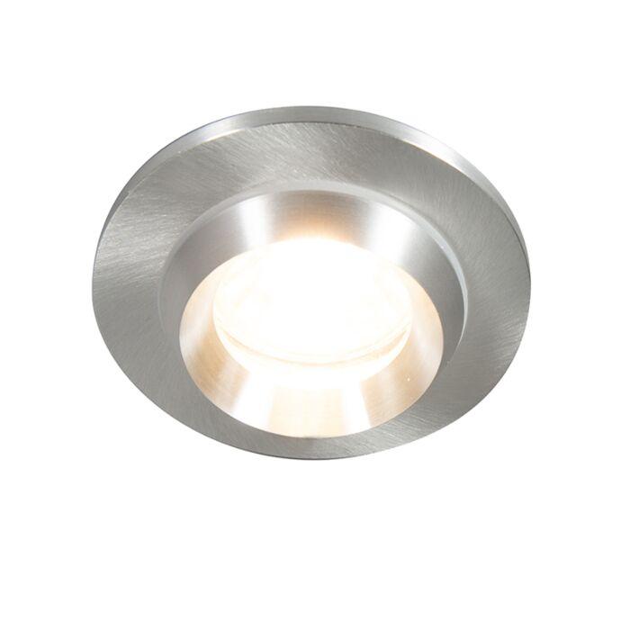 Modern-infälld-fläckaluminium-IP54---Spa