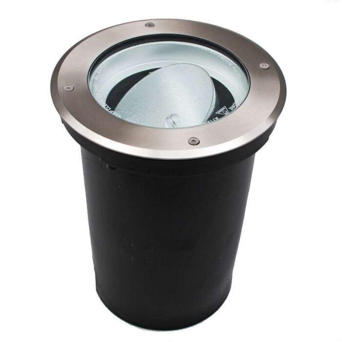 Markstrålkastare-'Essex-R-G12'-Moderna-rostfritt-stål-Utomhuslampa