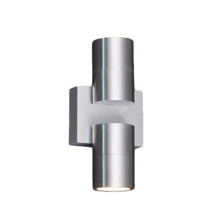 Vägglampa-'Win-II'-Design-aluminium---Passande-för-LED-/-Utomhuslampa,-Inomhus,-Badrum