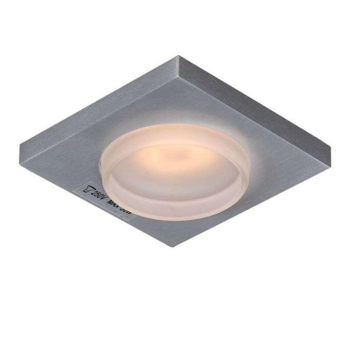 Spotlight/downlight-'Spa-Q'-Moderna-aluminium---Passande-för-LED-/-Utomhuslampa,-Inomhus,-Badrum