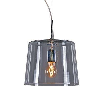 Taklampa-med-skärm-'Polar-1'-Design-transparent/glas---Passande-för-LED-/-Inomhus