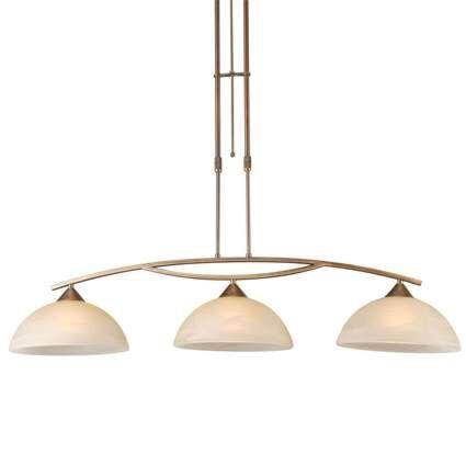 Dimbar-taklampa-'Milano-3'-Klassisk-brons---Passande-för-LED-/-Inomhus