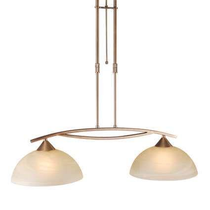 Dimbar-taklampa-'Milano-2'-Klassisk-brons---Passande-för-LED-/-Inomhus
