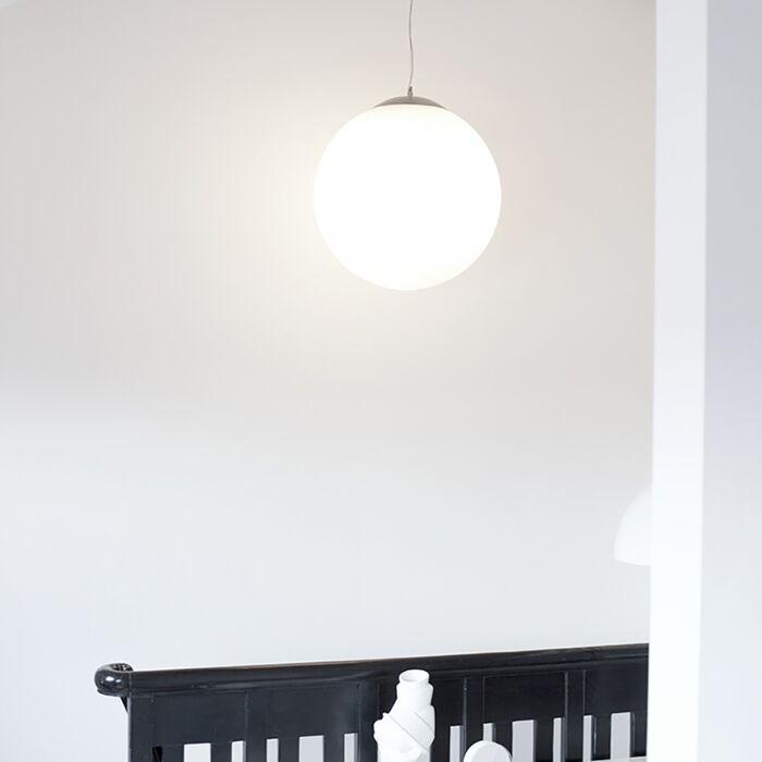 Skandinavisk-hängande-lampa-opalglas-50cm---Ball-50