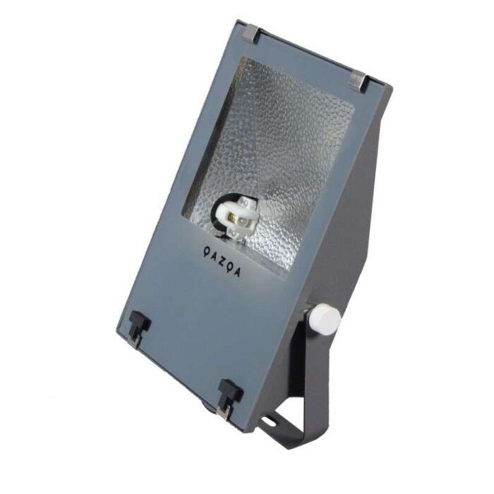 Jord-flood-strålkastare-'Astra-II'-Industriell-grafit/aluminium-Utomhuslampa