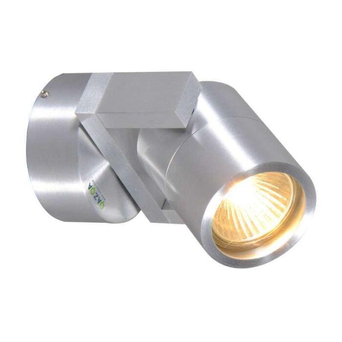 Vägg-och-plafond-strålkastare-'Move-1'-Design-aluminium---Passande-för-LED-/-Utomhuslampa,-Inomhus,-Badrum