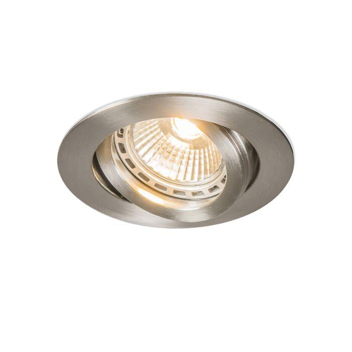 Spotlight/downlight-'Impreza'-Moderna-rostfritt-stål-Inomhus