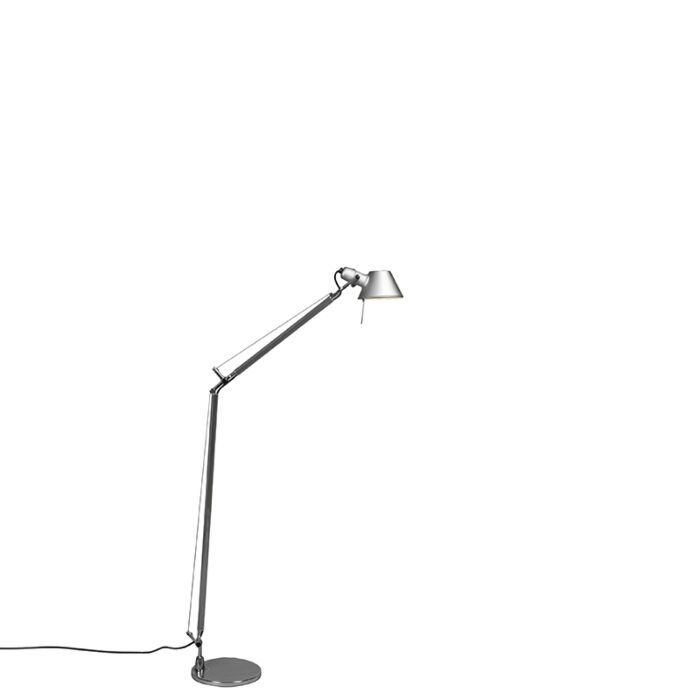Artemide-golvlampa-aluminium-justerbar---Artemide-Tolomeo-Lettura
