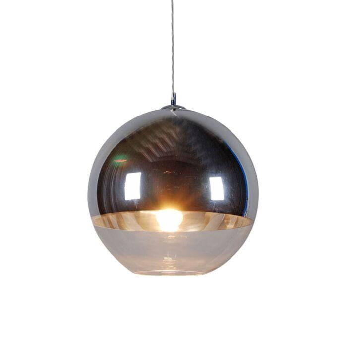 Taklampa-med-skärm-'Ball-40'-Moderna-krom---Passande-för-LED-/-Inomhus
